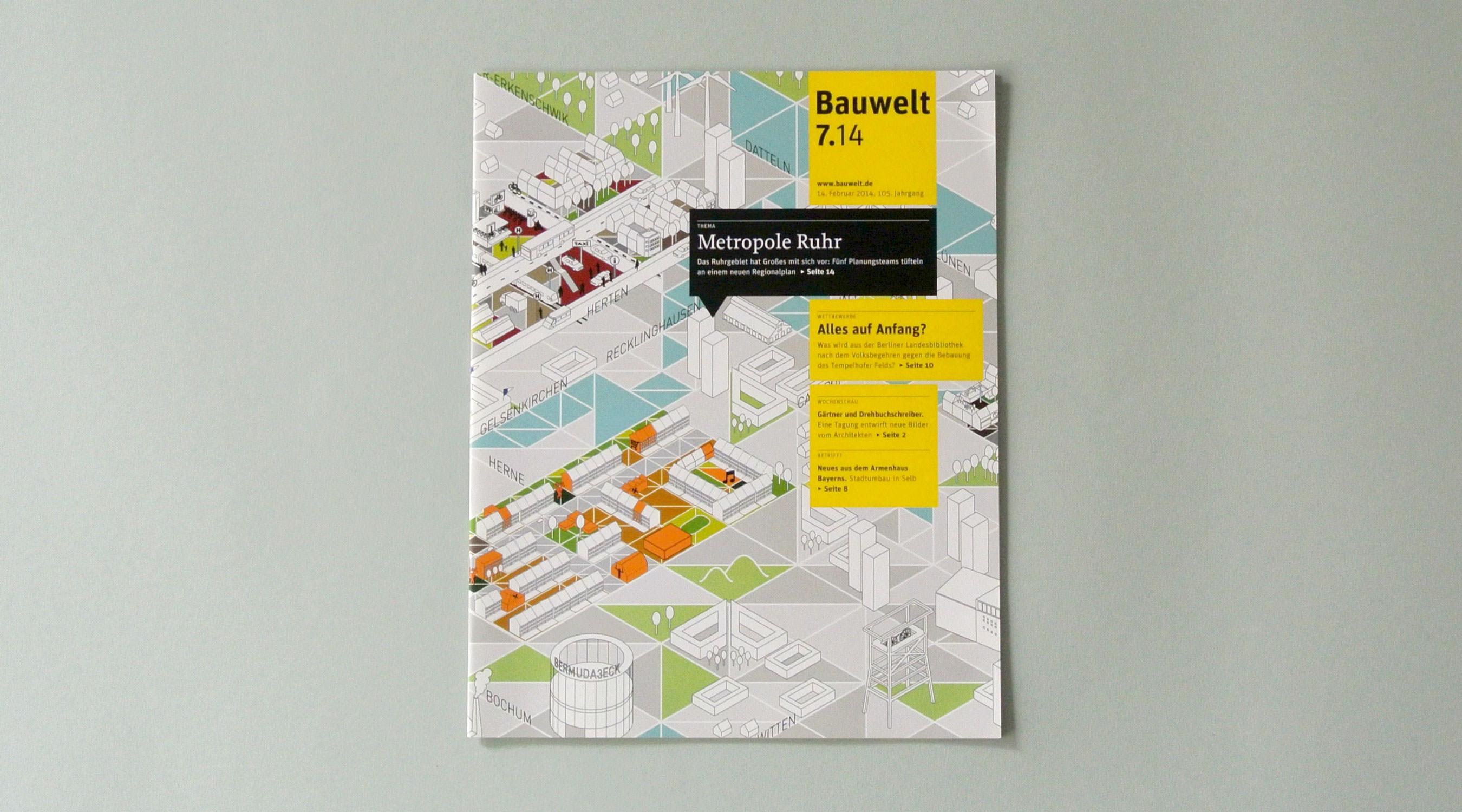 Bauwelt 7.14 Metropole Ruhr