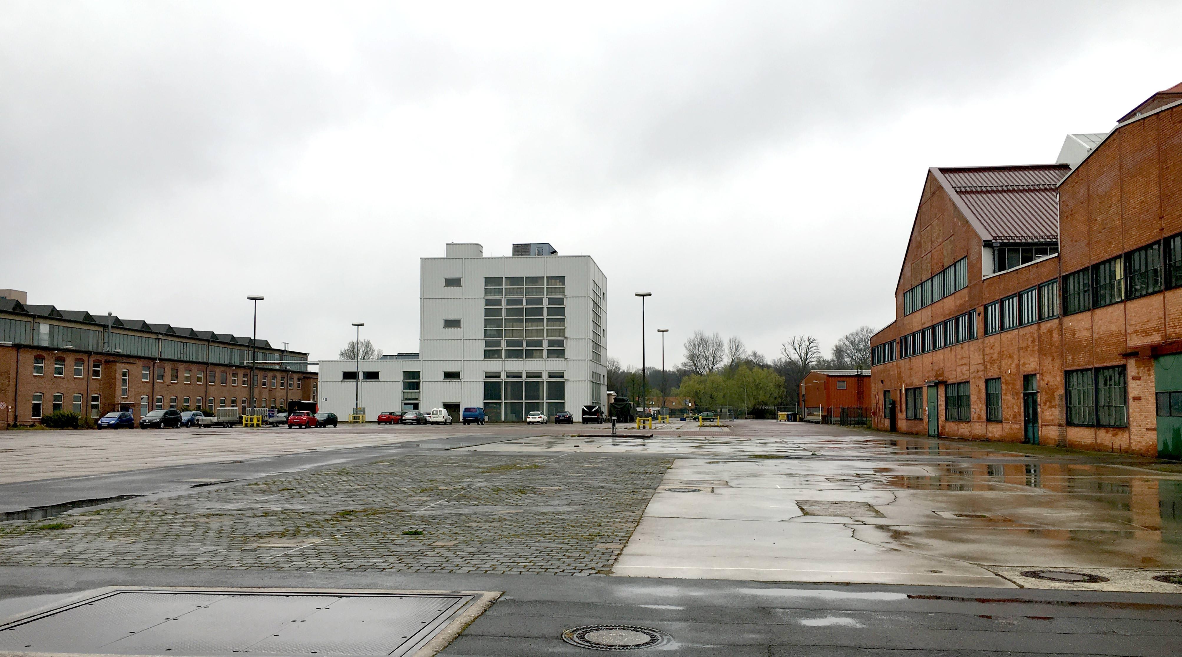 Das neue Gartenfeld Berlin Spandau Belgienhalle