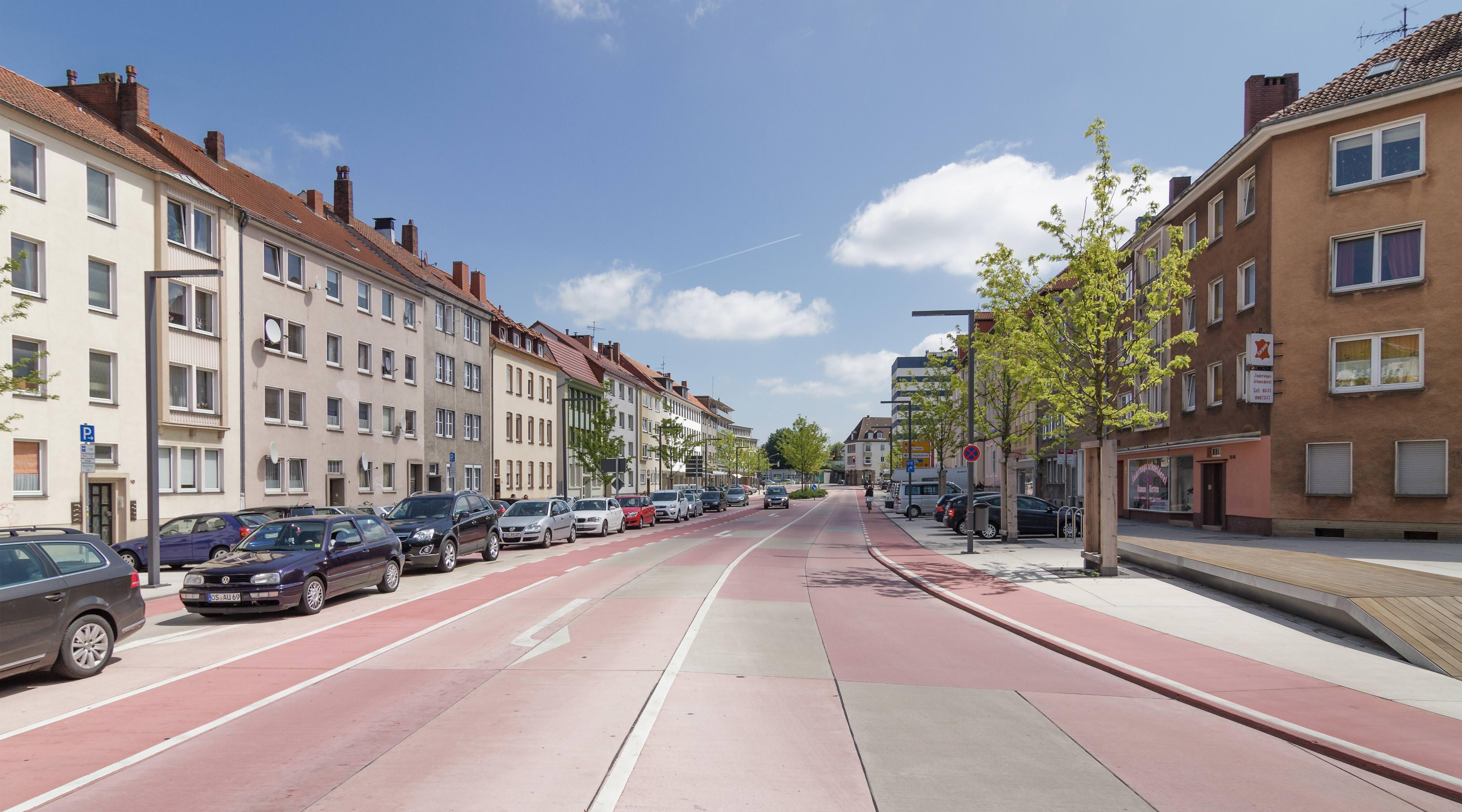 Rosenplatz Osnabrück Gesamtbild