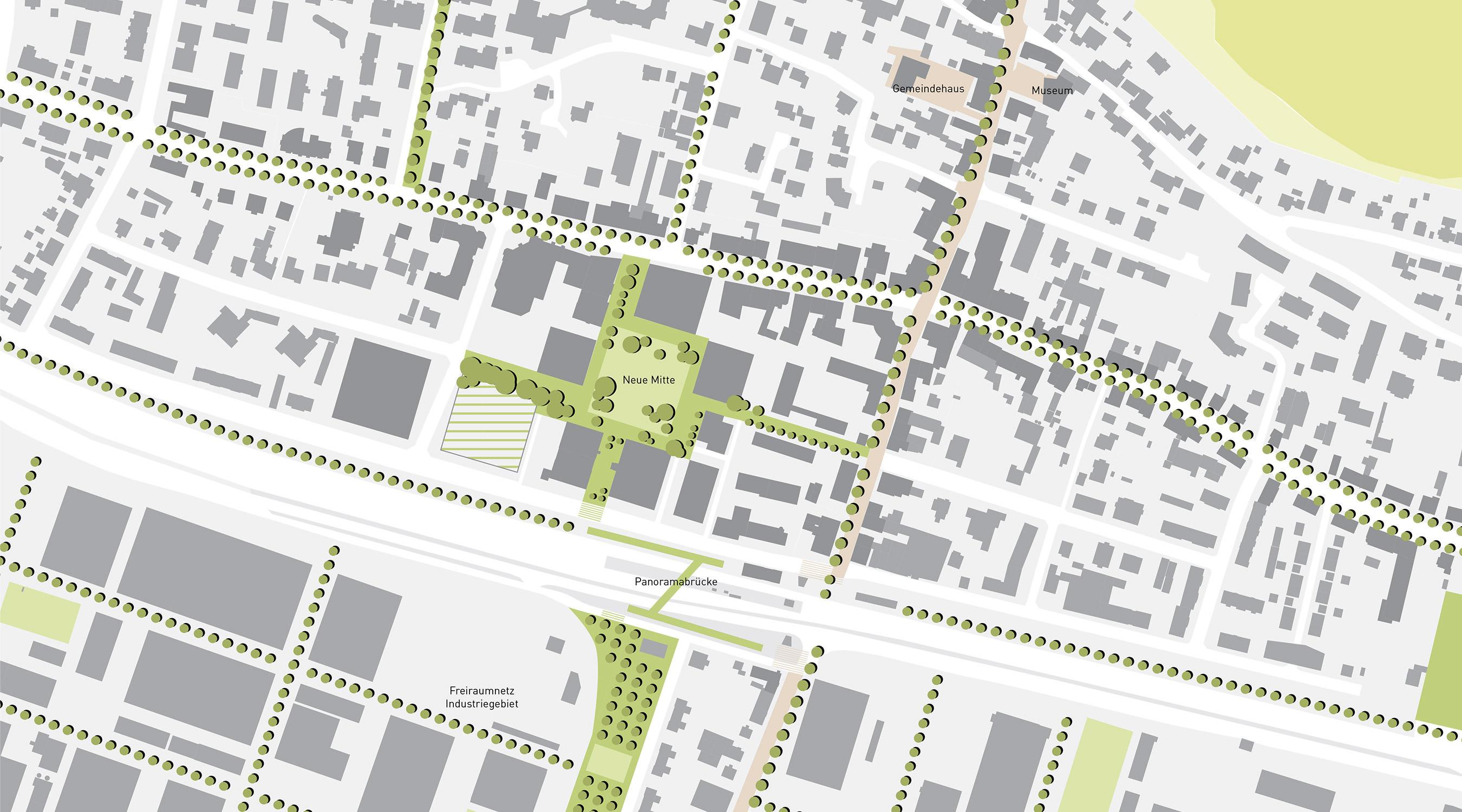 Grenzach Neue Mitte Städtebauliche Einbindung