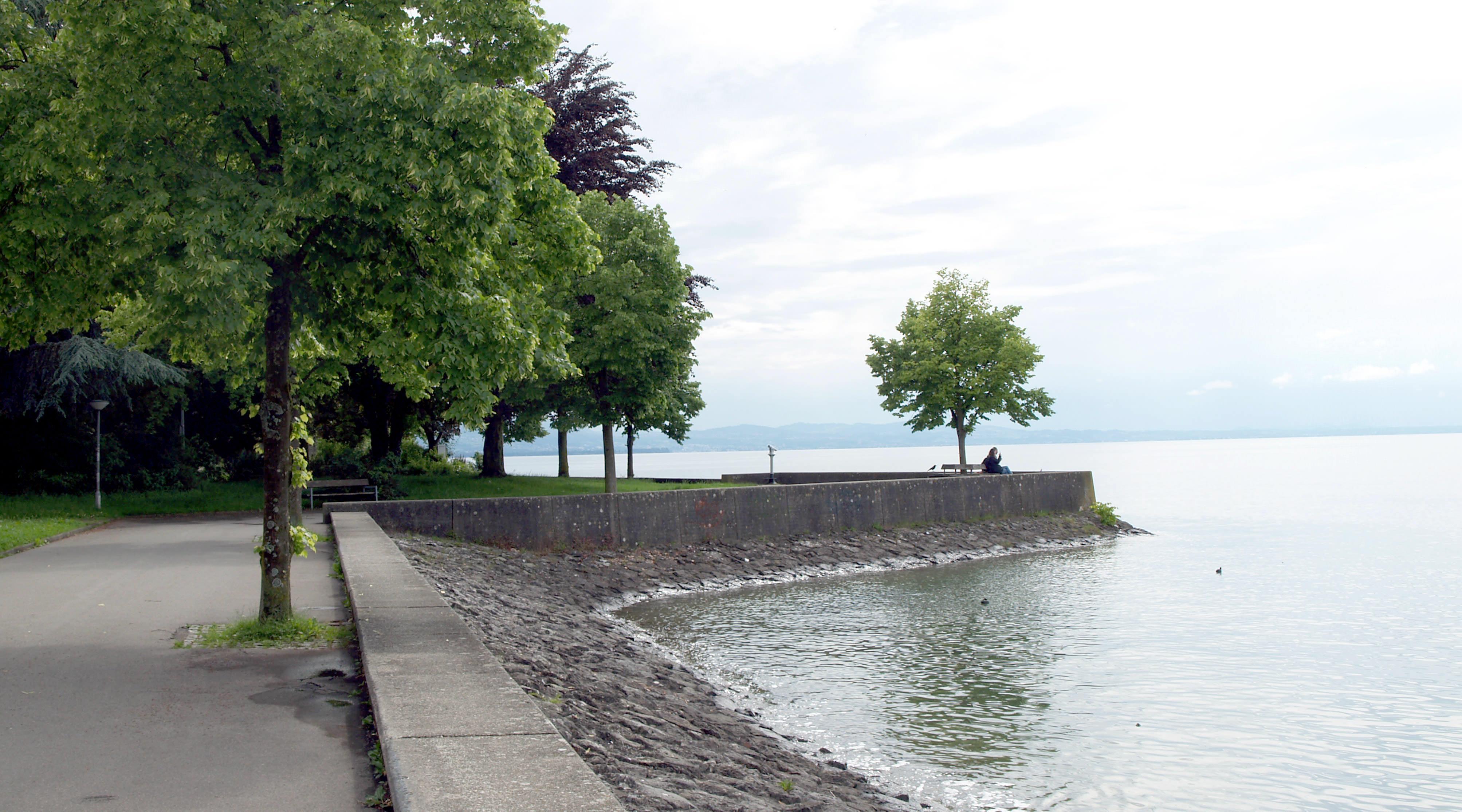 Lindau Hintere Insel Uferkante