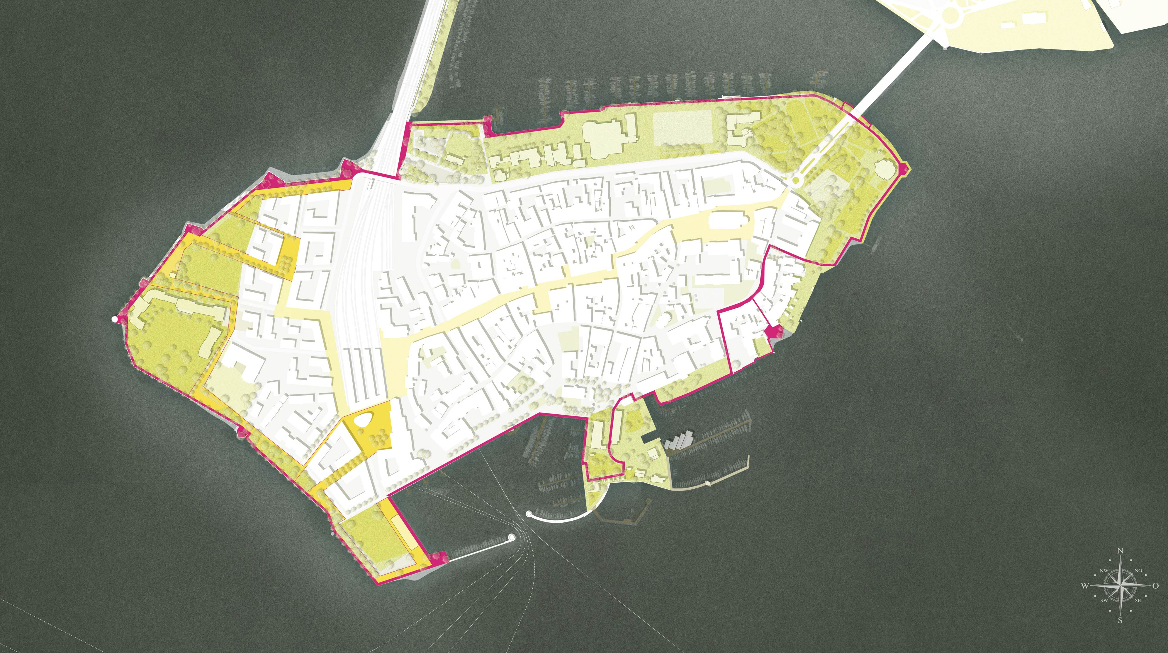 Lindau Hintere Insel Lageplan
