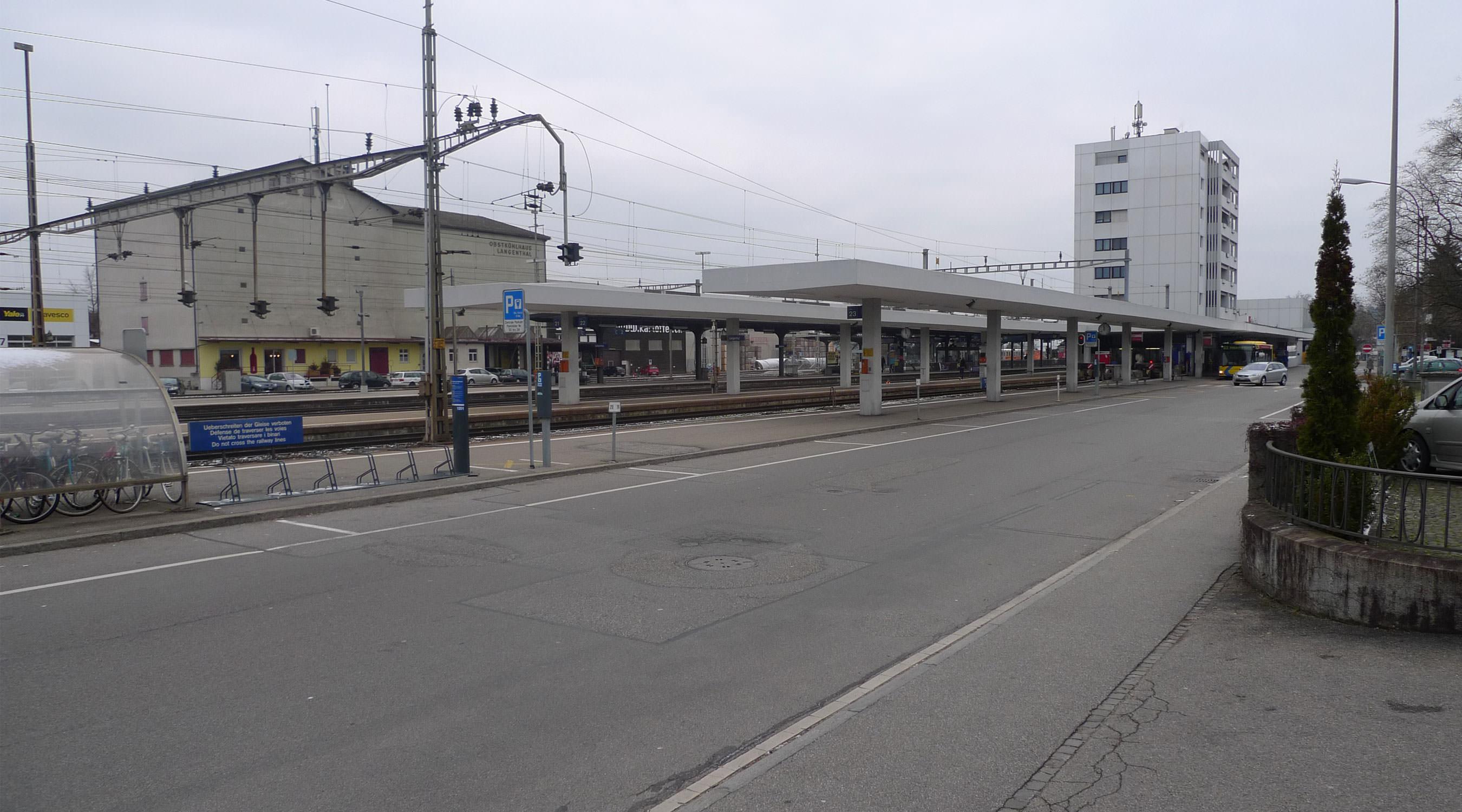 Langenthal Bahnhof Titelbild