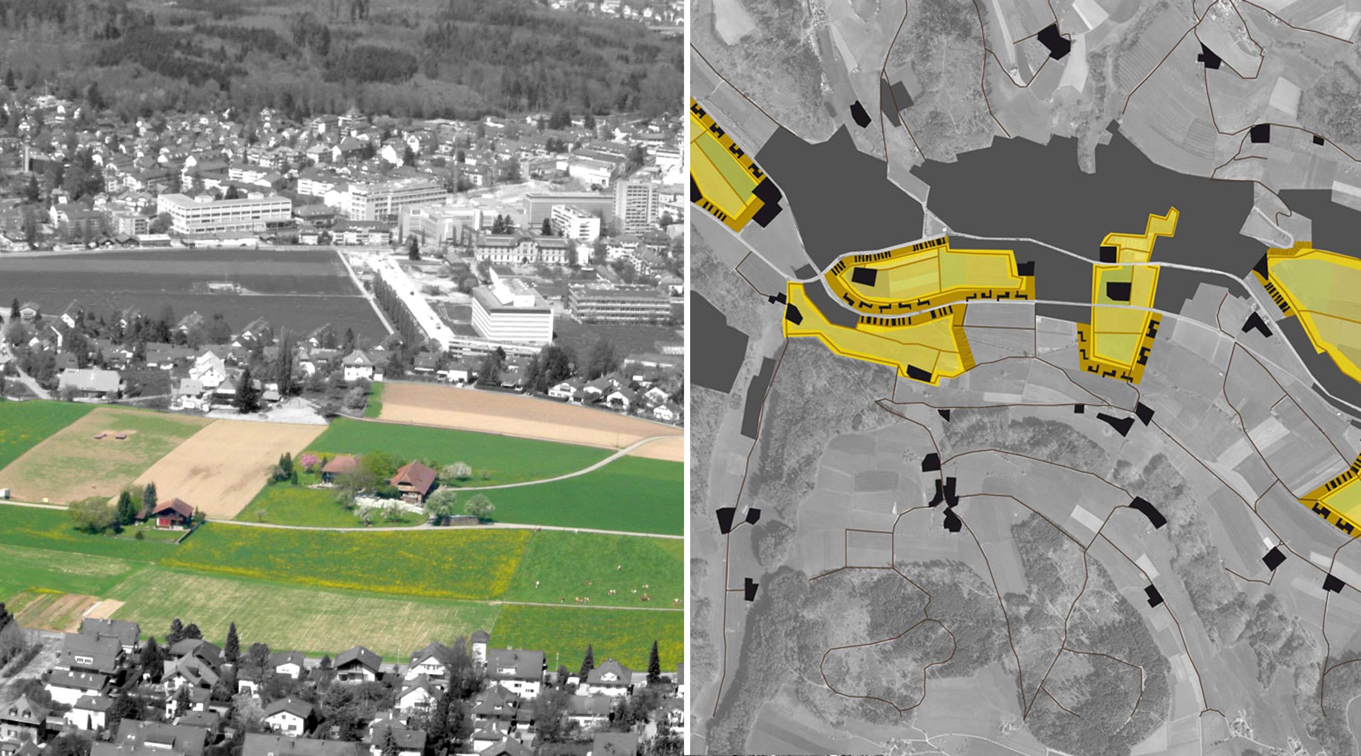 Ein Bild für Bern Intarsien Lageplan