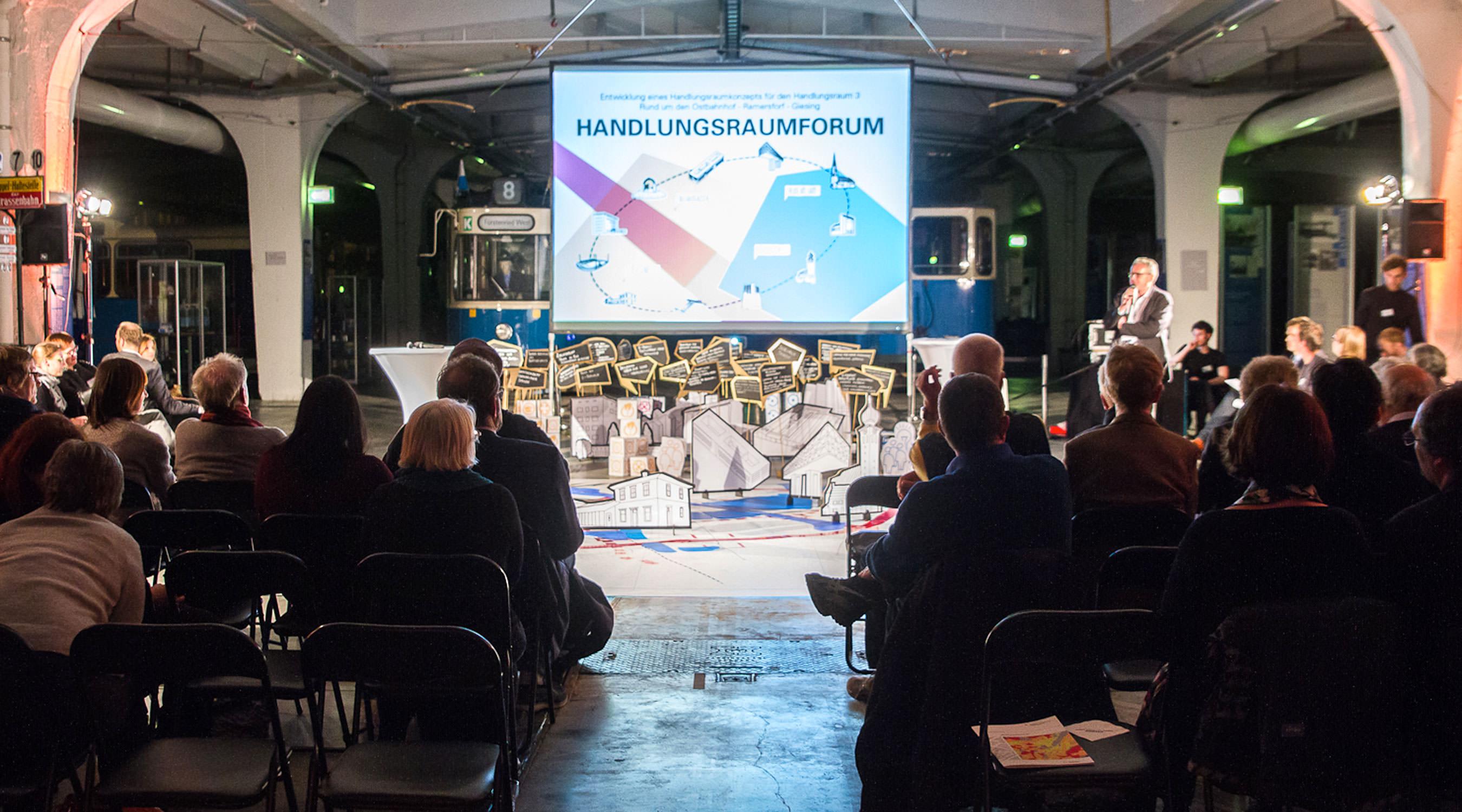 Integriertes Handlungsraumkonzept Handlungsraum 3 München Forum