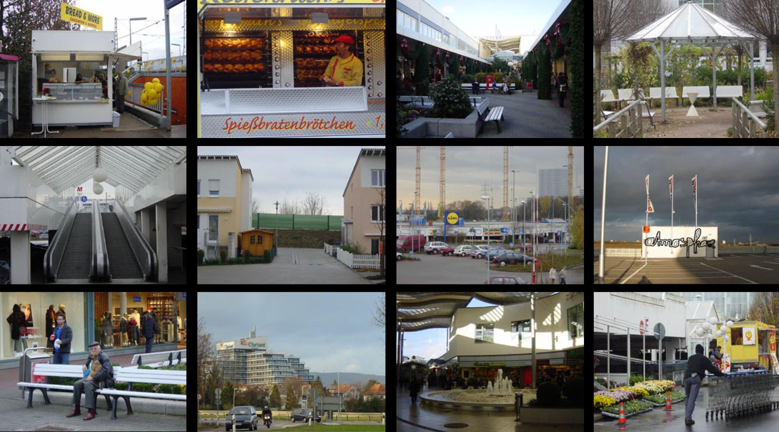 Ladenburg Fototapete