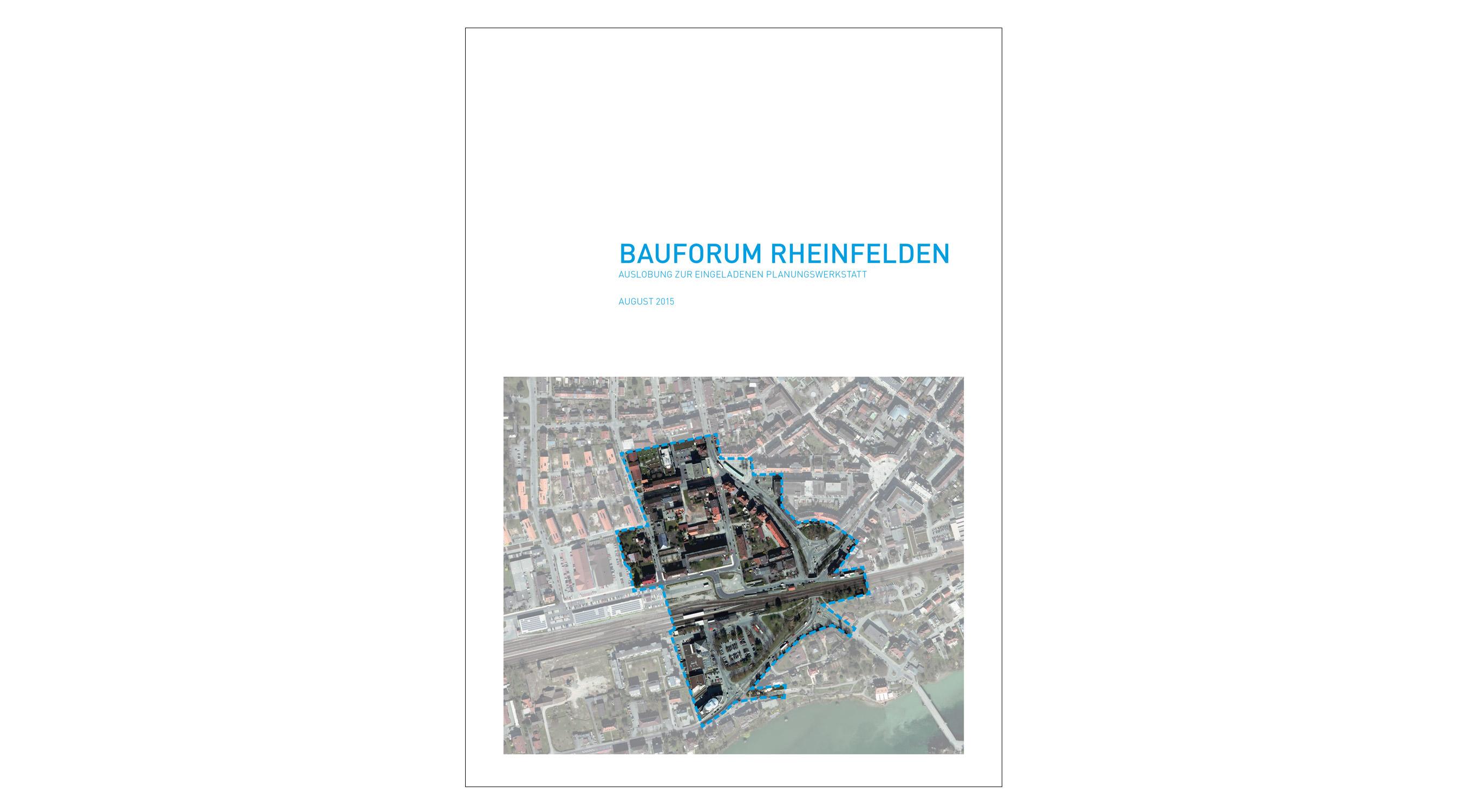 Rheinfelden Bauforum Auslobung