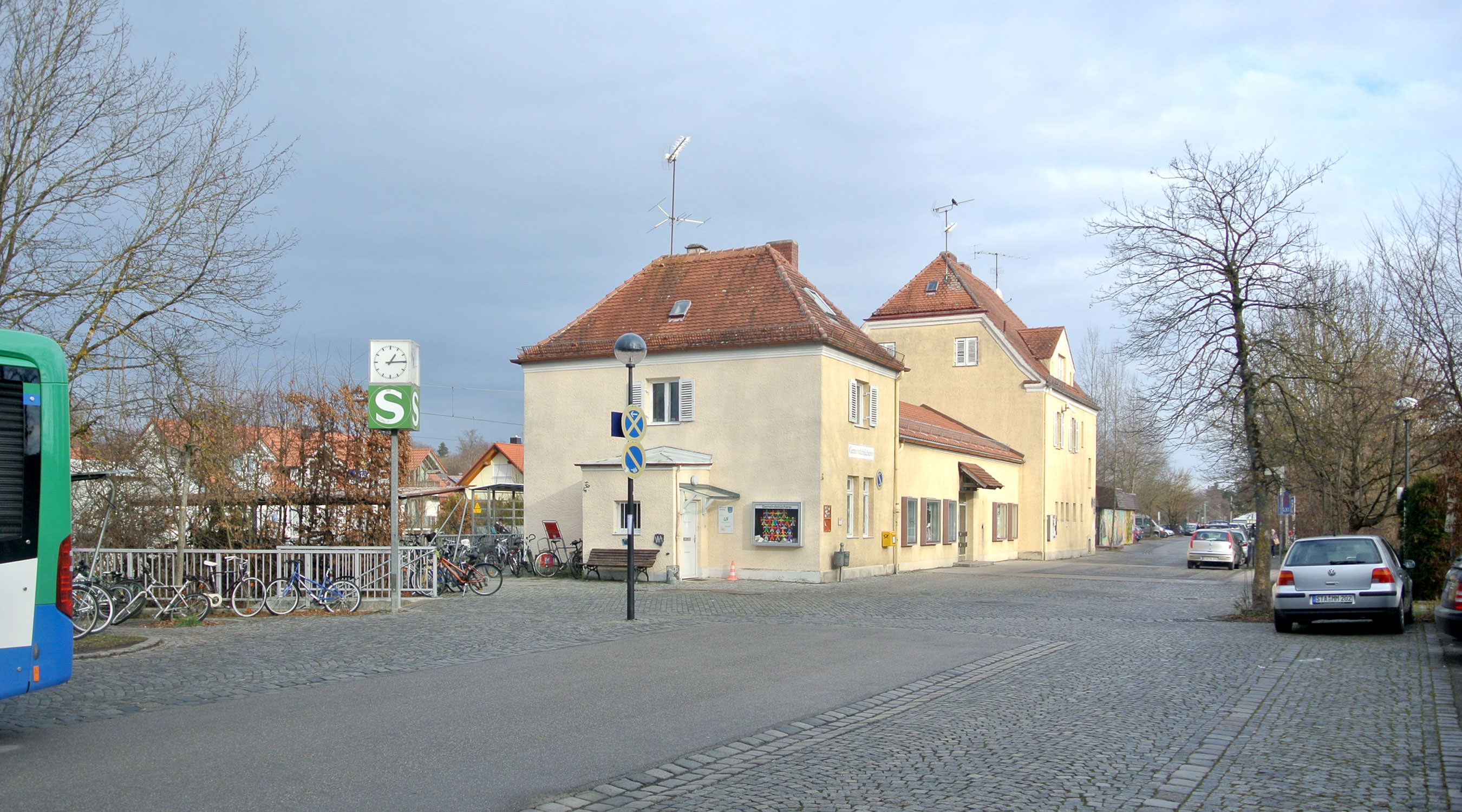 Wessling Bahnhof Bestand