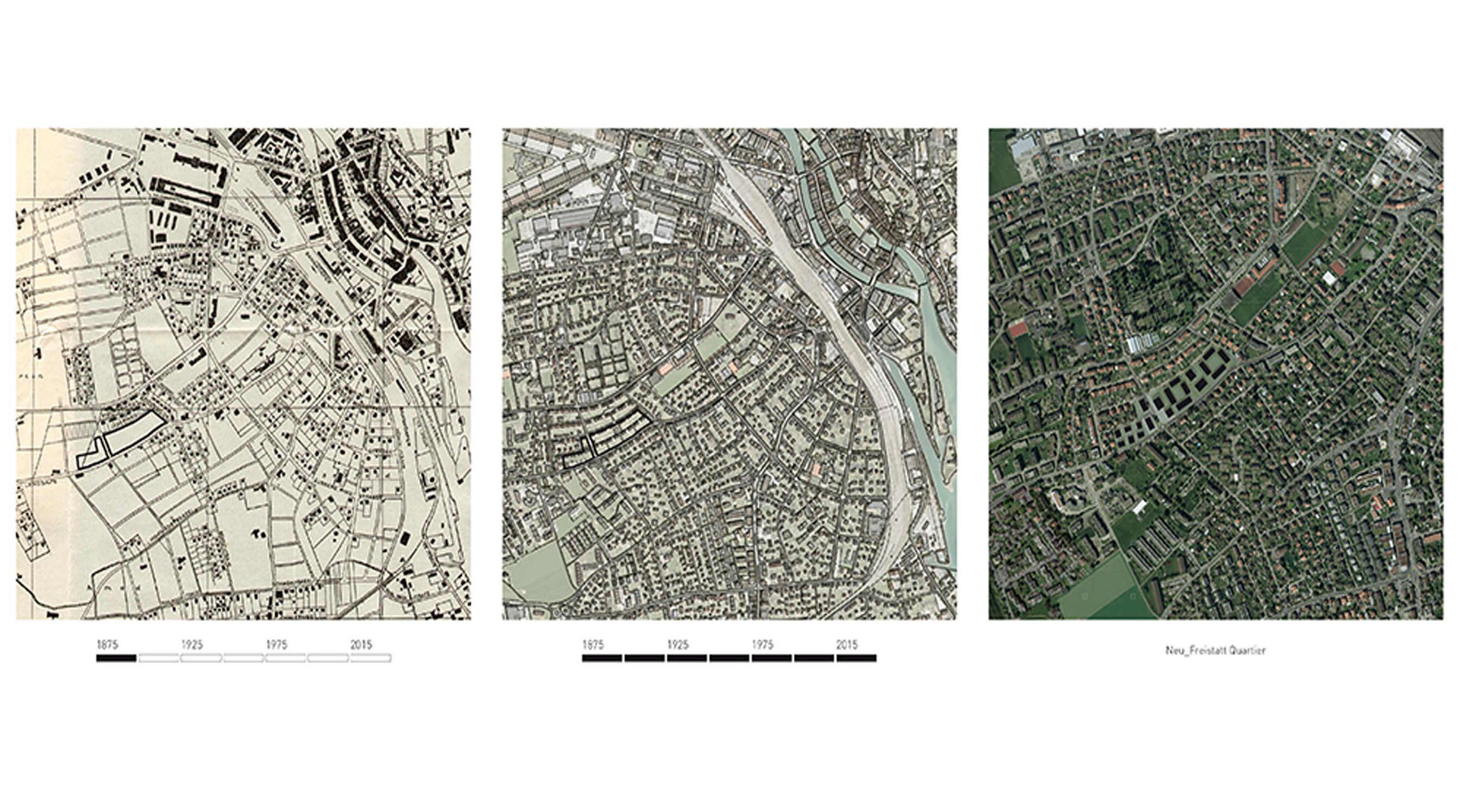 Arealentwicklung Freistatt Thun städtebauliche Entwicklung