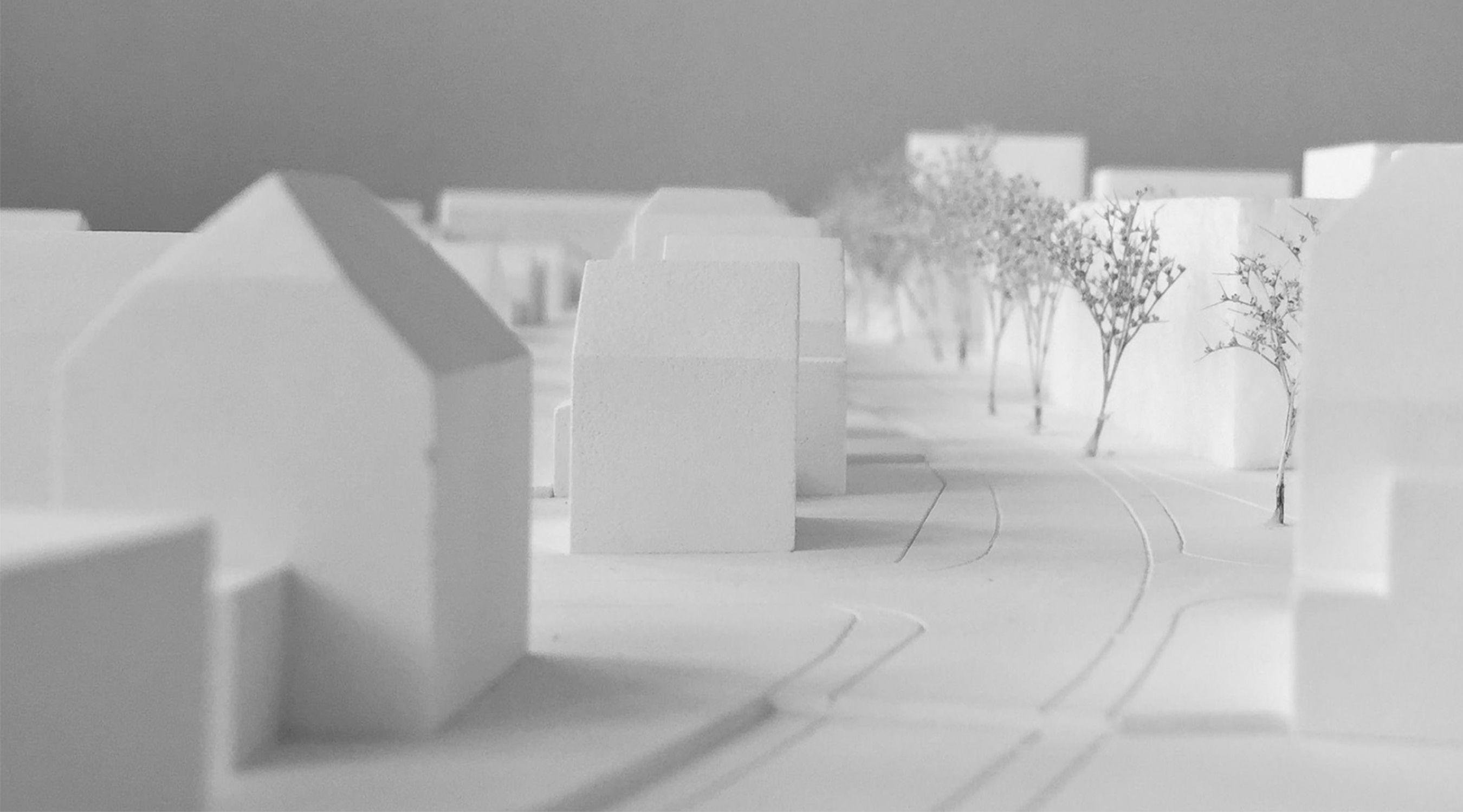 Arealentwicklung Freistatt Thun städtebauliches Modell