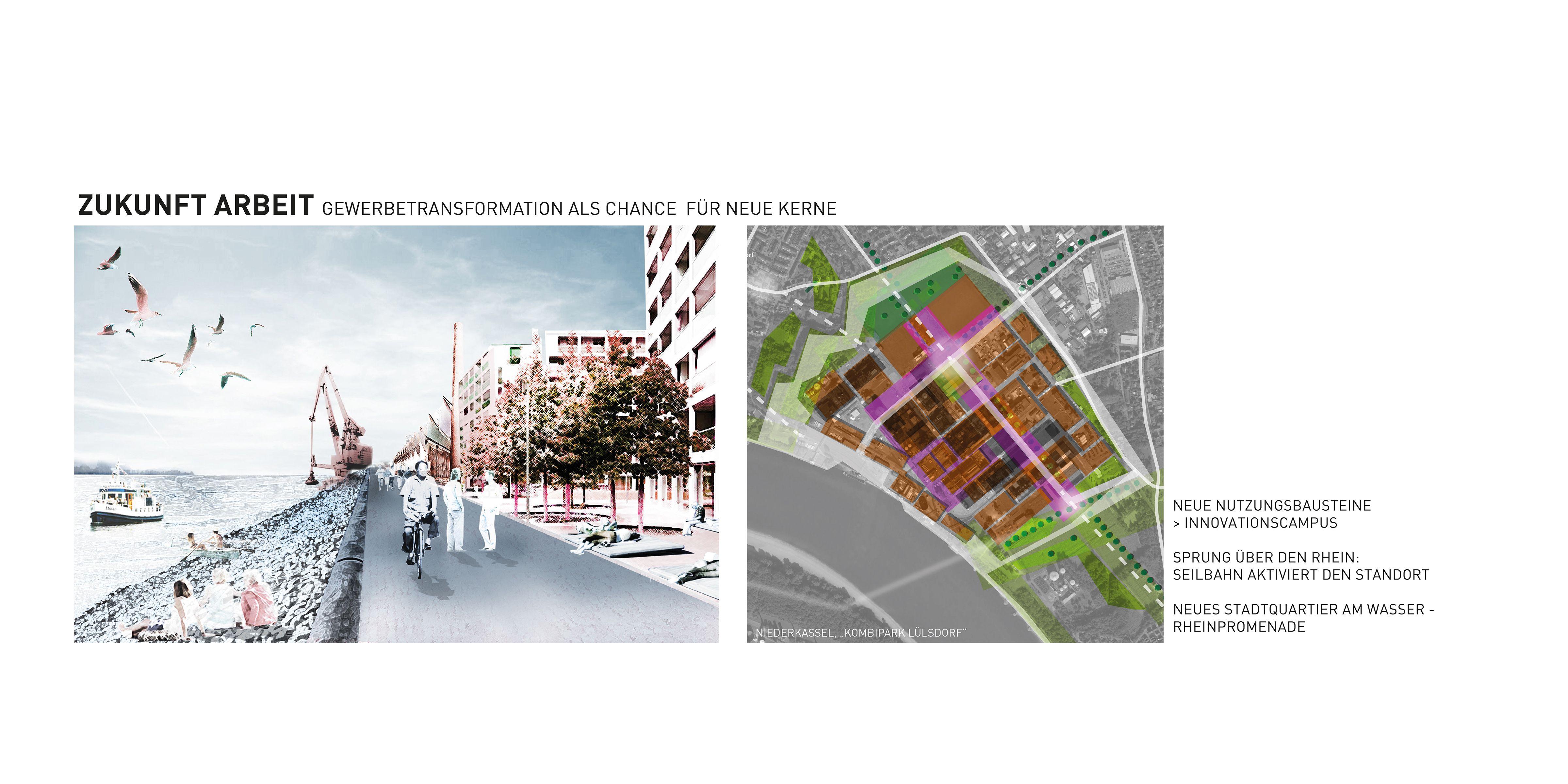 Raumperspektive 2035: Köln und rechtsrheinische Nachbarn Zukunft Arbeit Evonik Lülsdorf Niederkassel Rhein