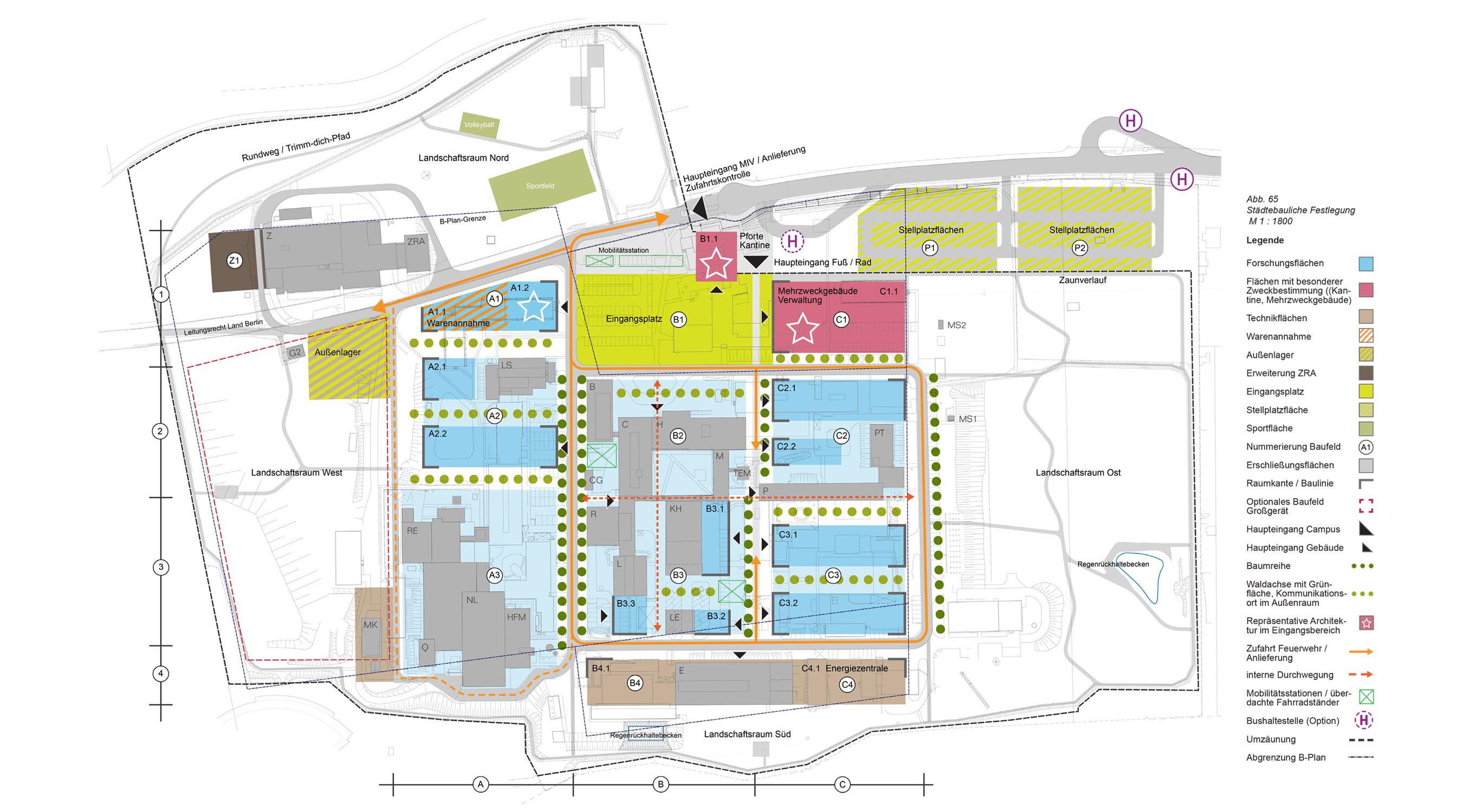 Lise-Meitner-Campus Berlin-WannseeStaedtebaulicher Rahmenplan