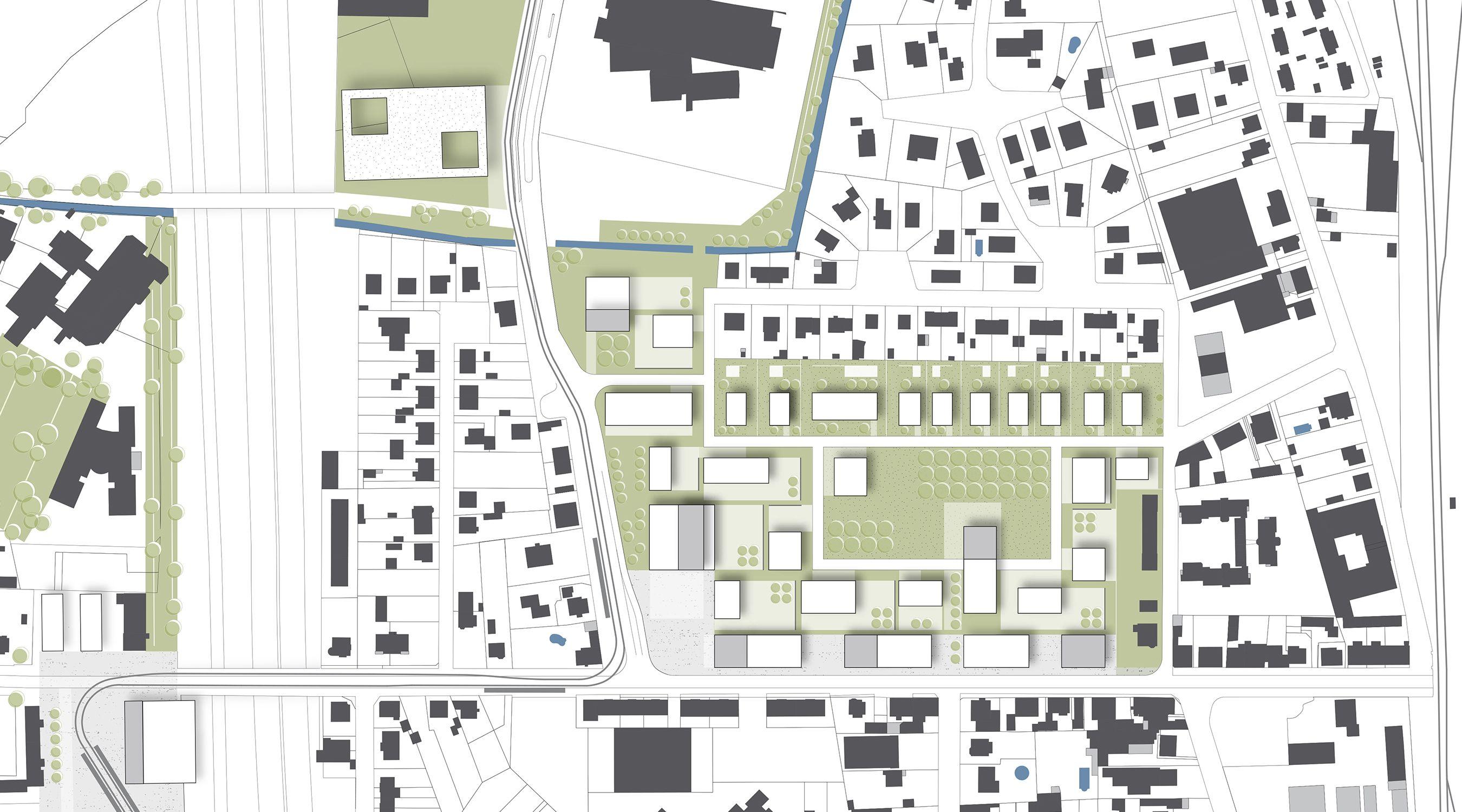 Lageplan Cité Verte IBA Basel Saint Louis