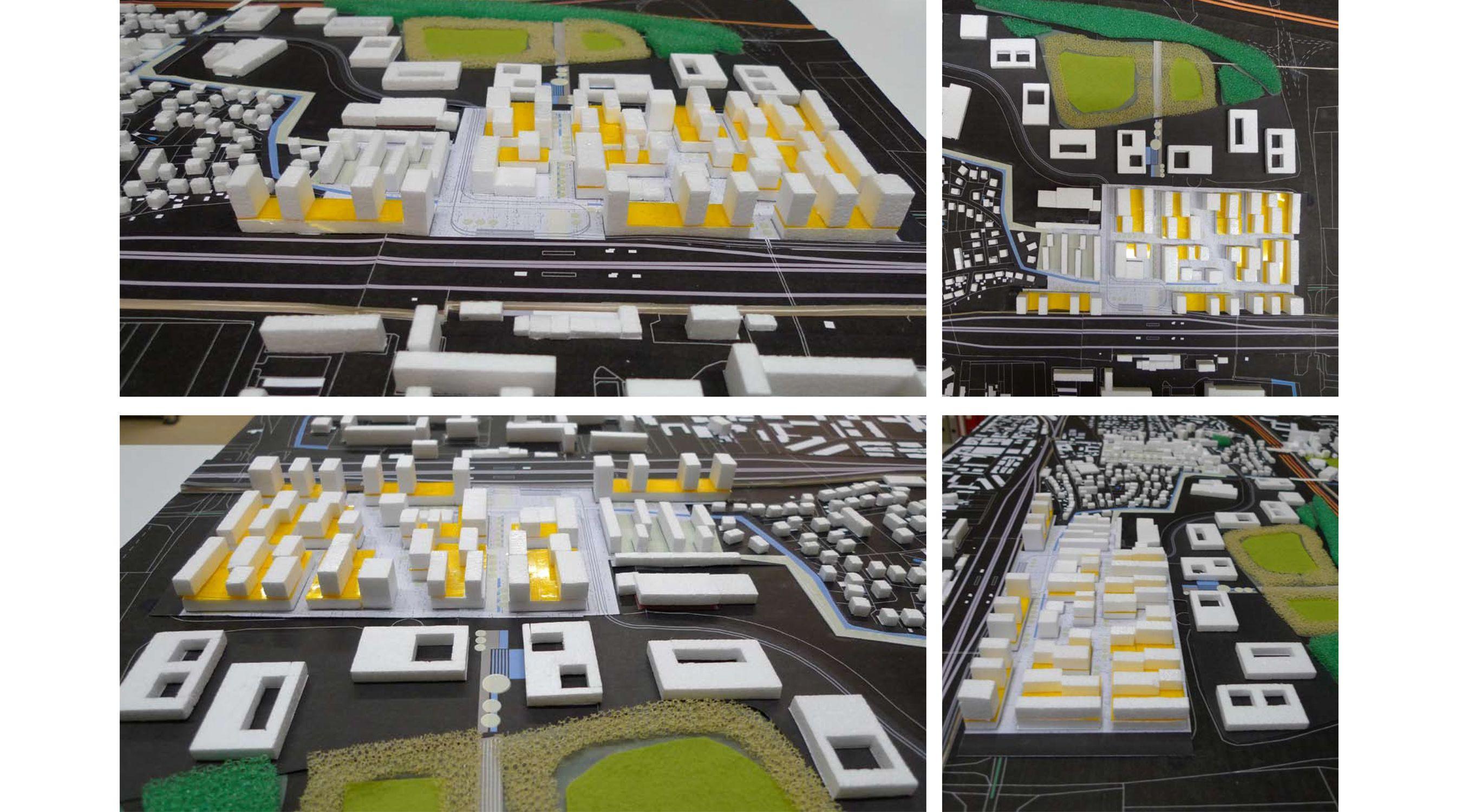 Modell Quartier de Lys IBA Basel Saint Louis