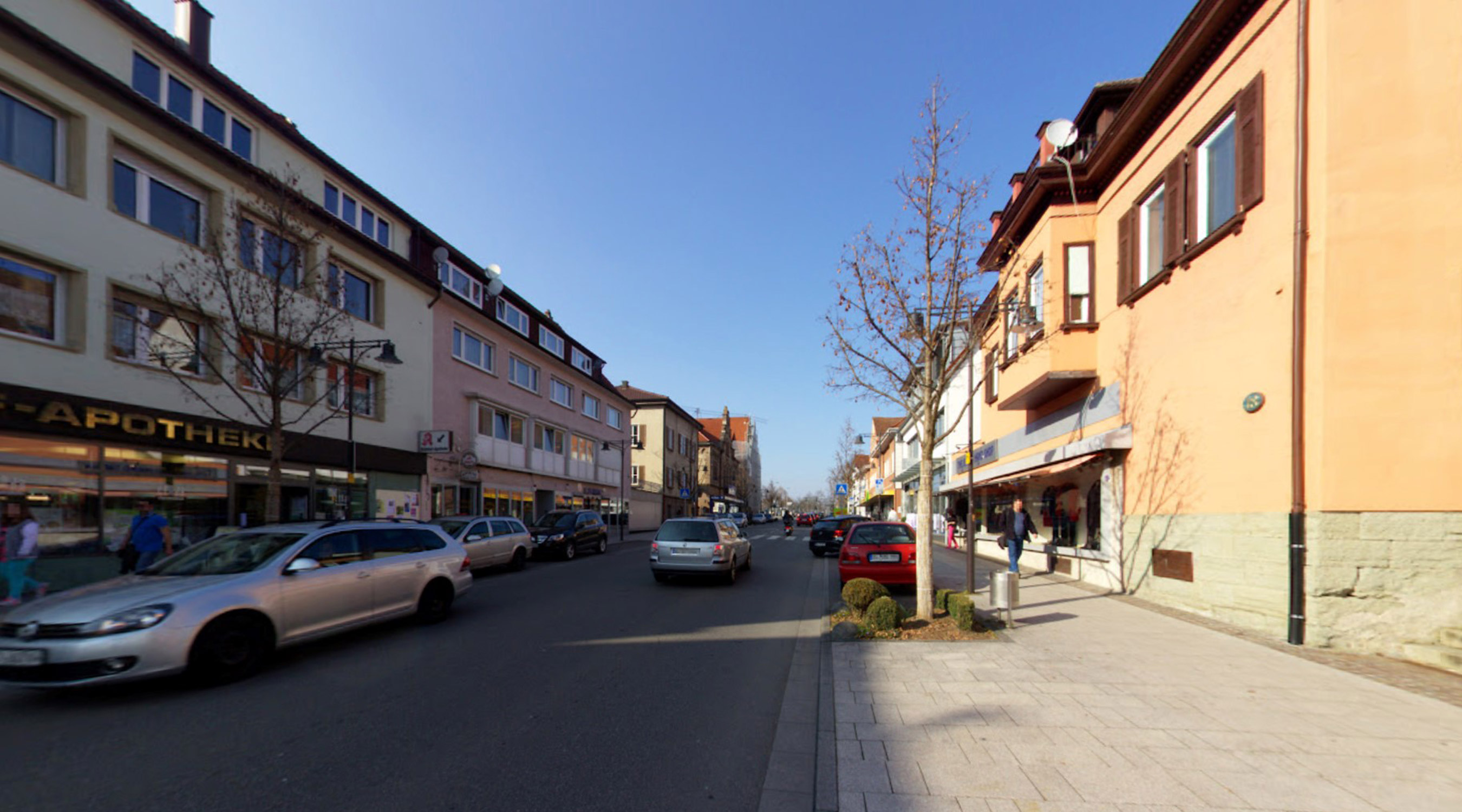 Bahnhofplatz Stadteingang Nord Balingen Bestand