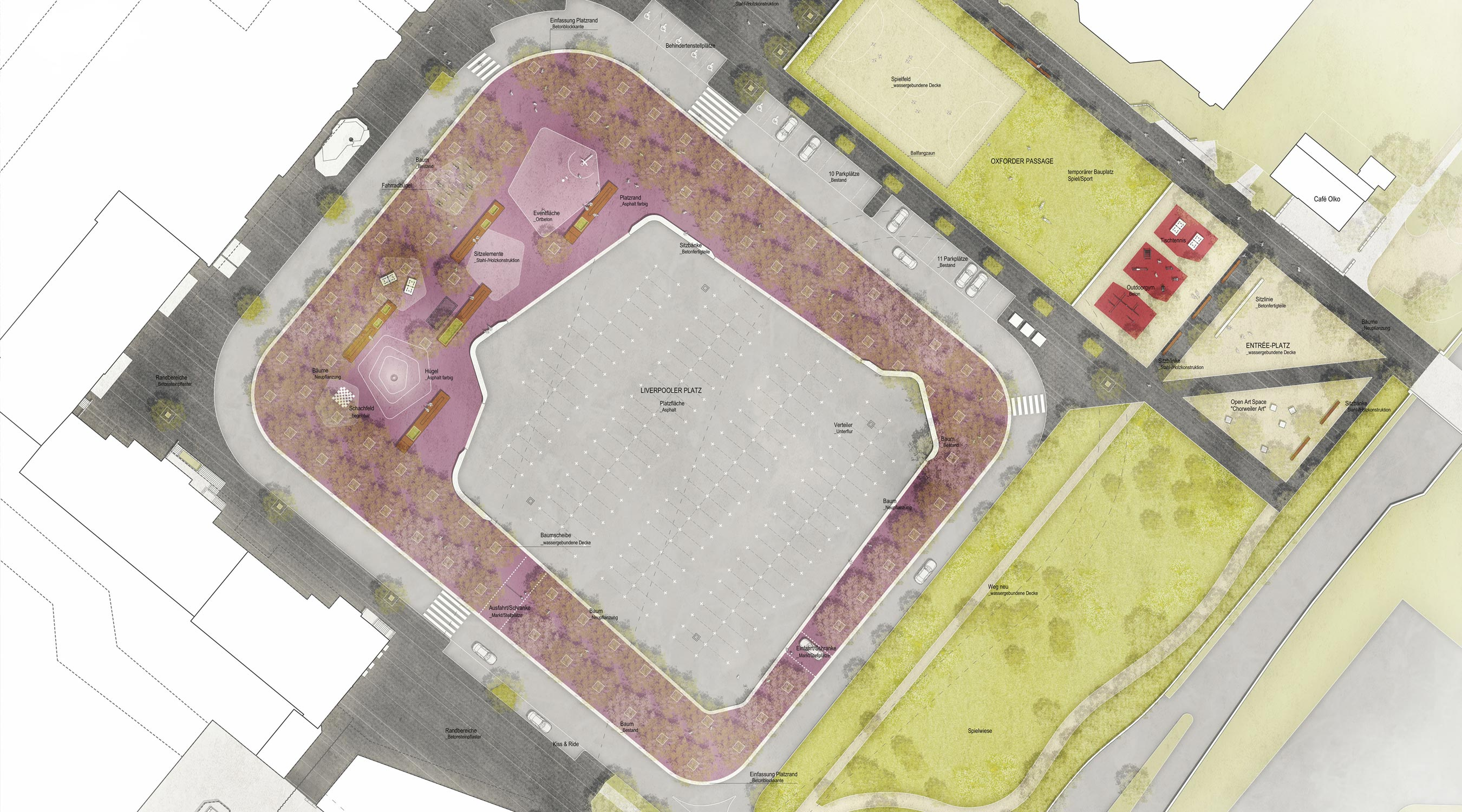 Köln Lebenswertes Chorweiler Lageplan Liverpooler Platz