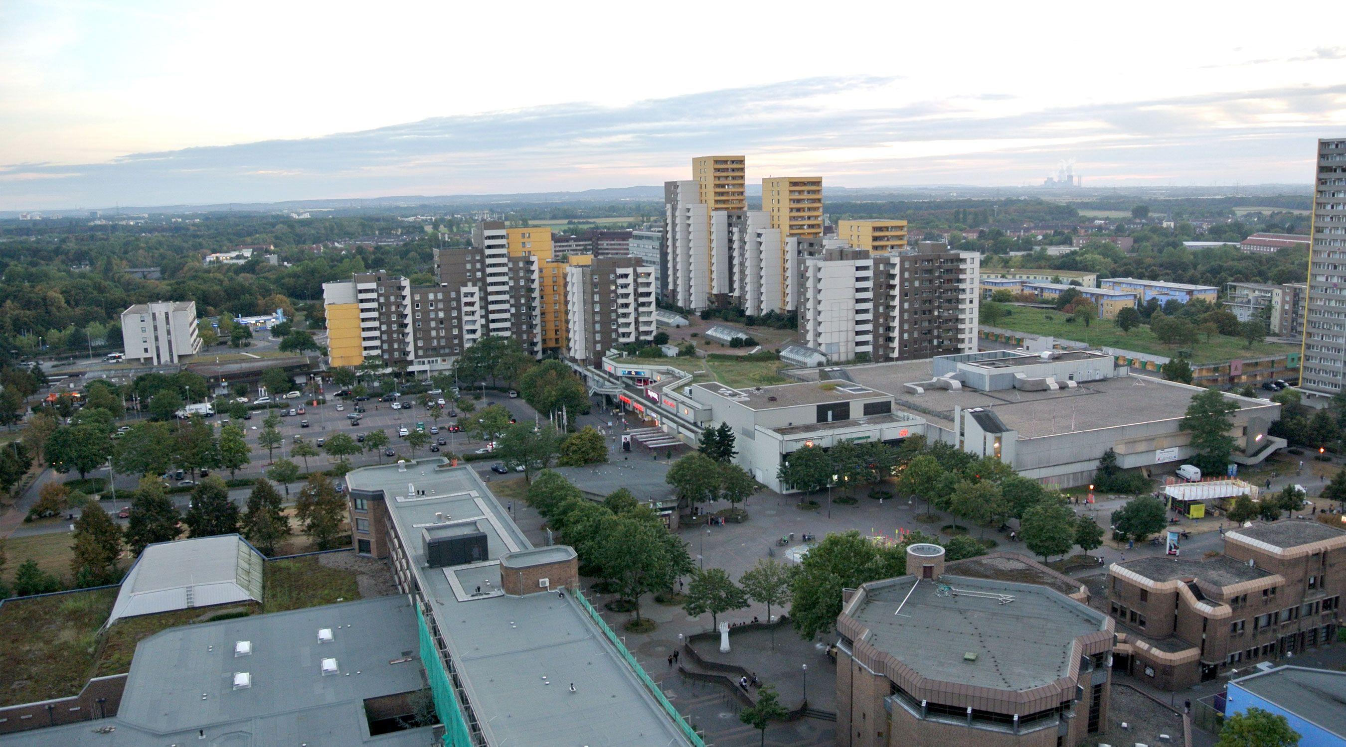 Lebenswertes Chorweiler Blick vom Dach
