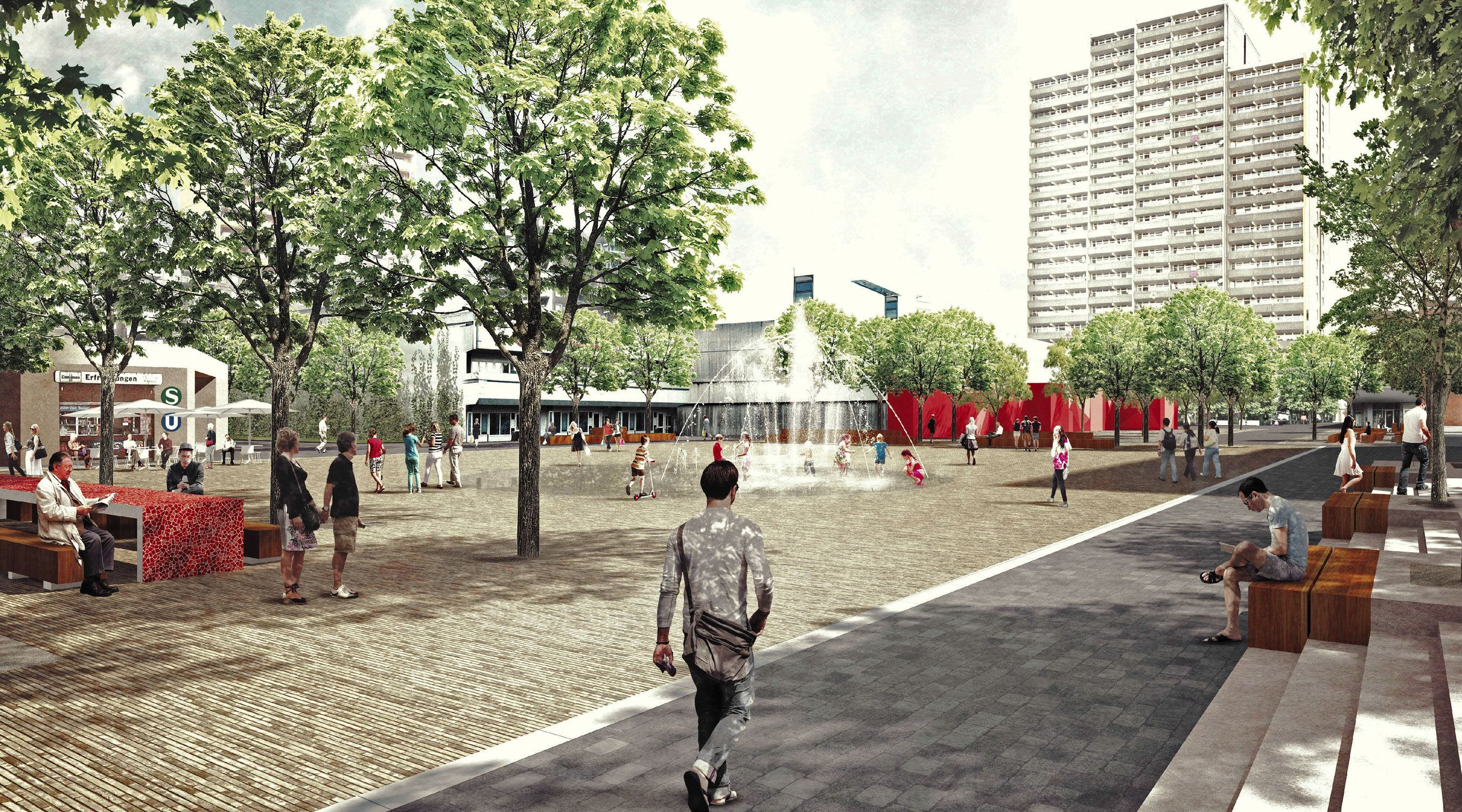 Lebenswertes Chorweiler Pariser Platz