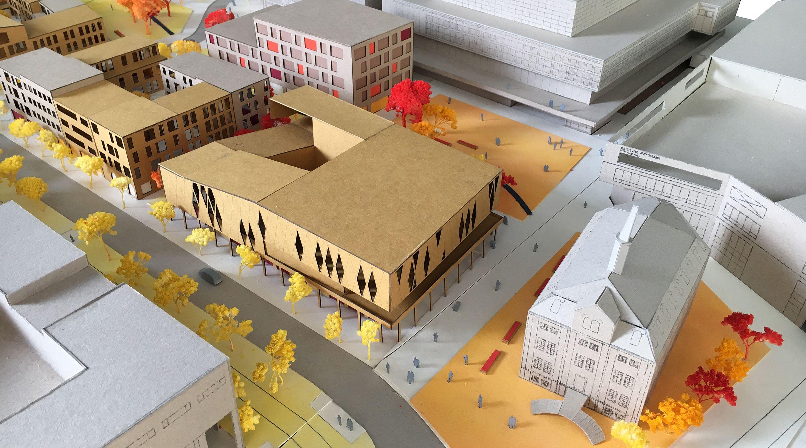 Gera Kuk an 2 Ausstellung Modell