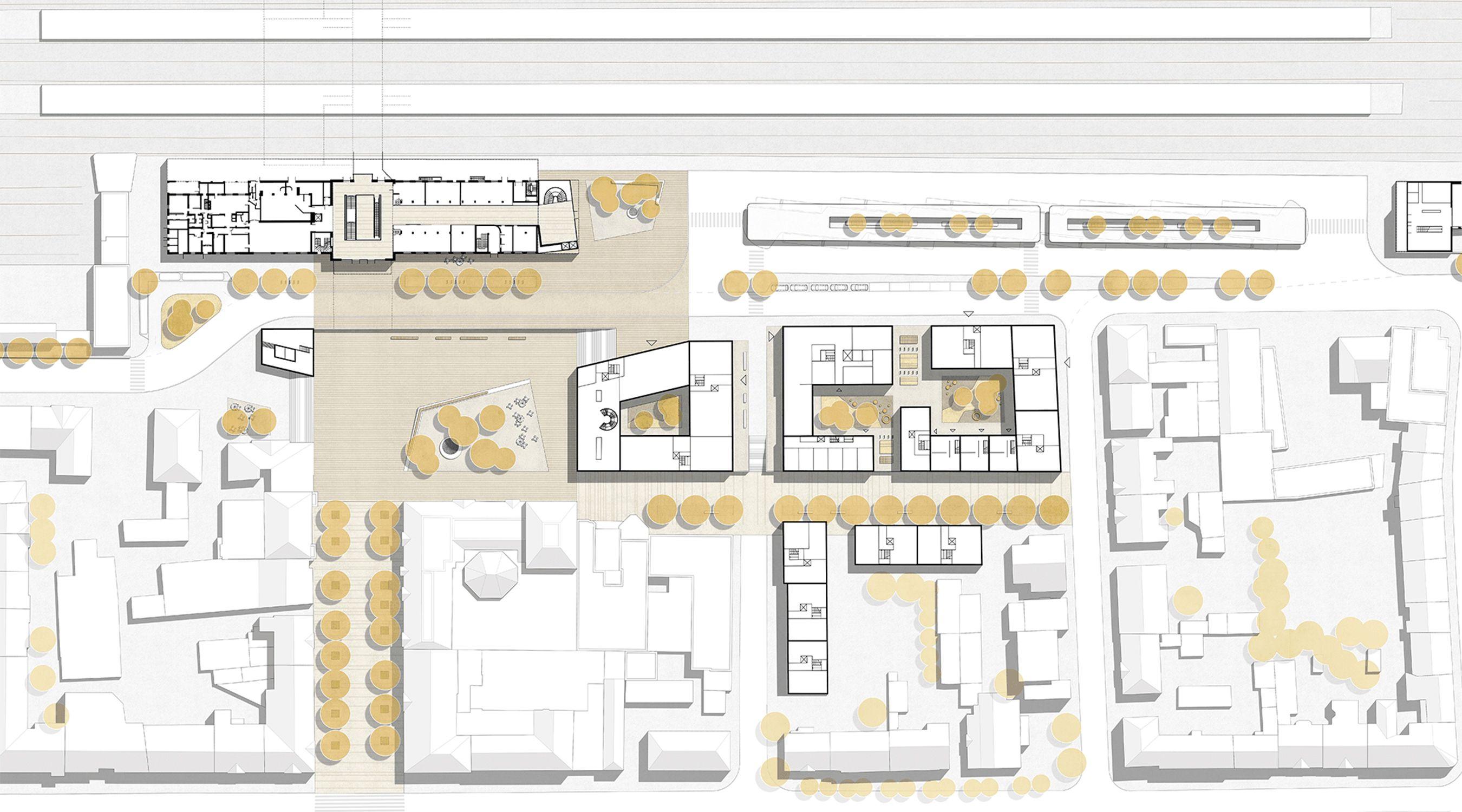 Lageplan Bahnhofsquartier Fulda