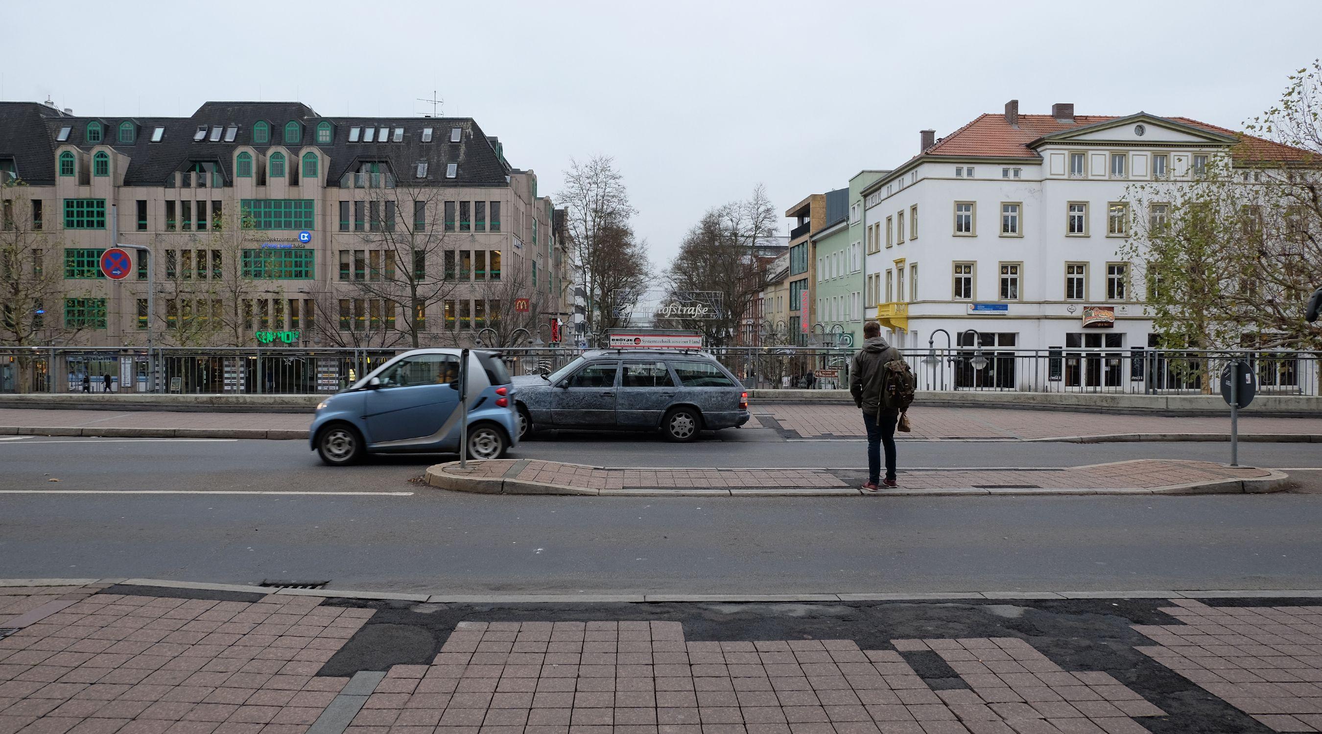 Bahnhofsplatz Fulda
