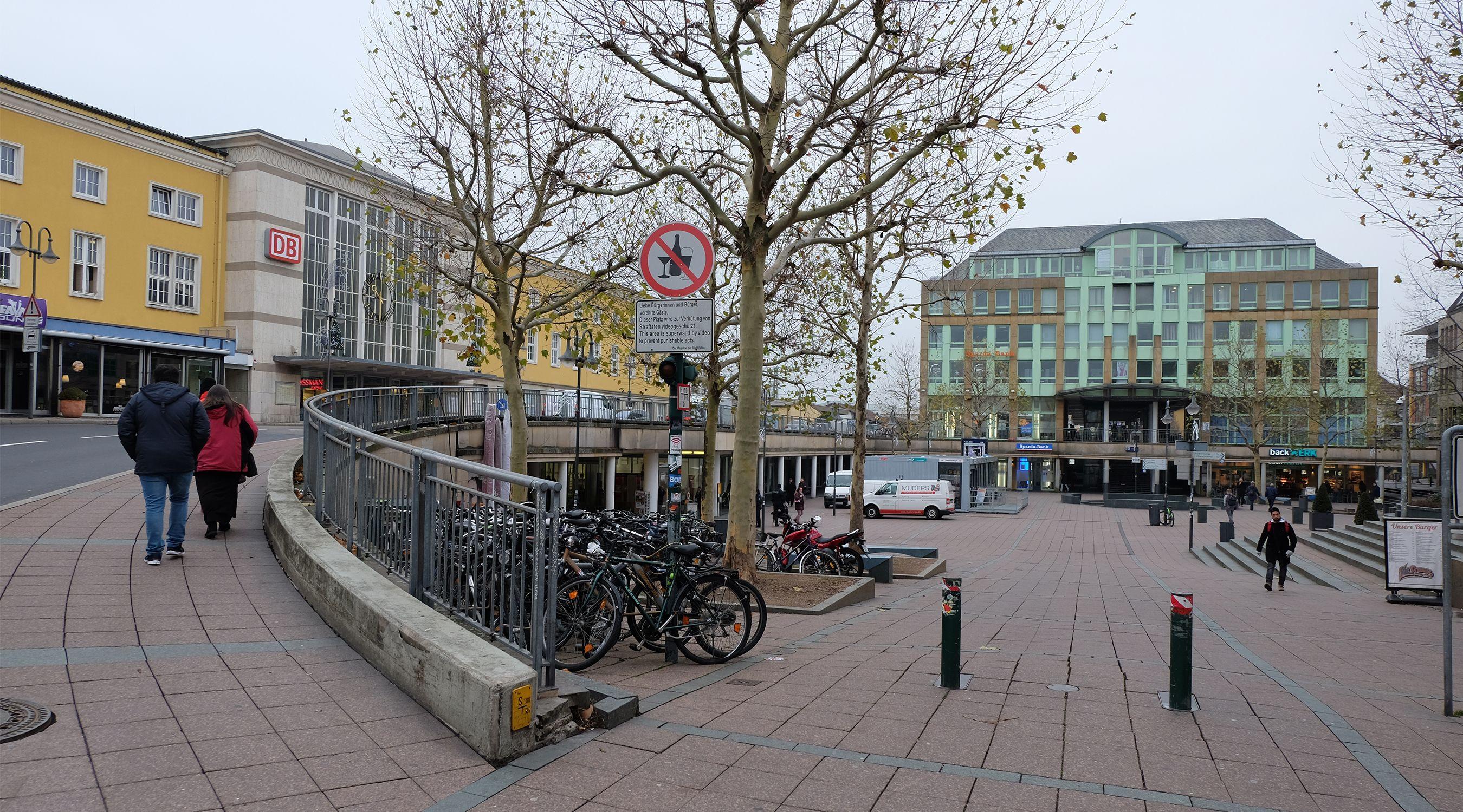 Situation Bahnhofsplatz Fulda