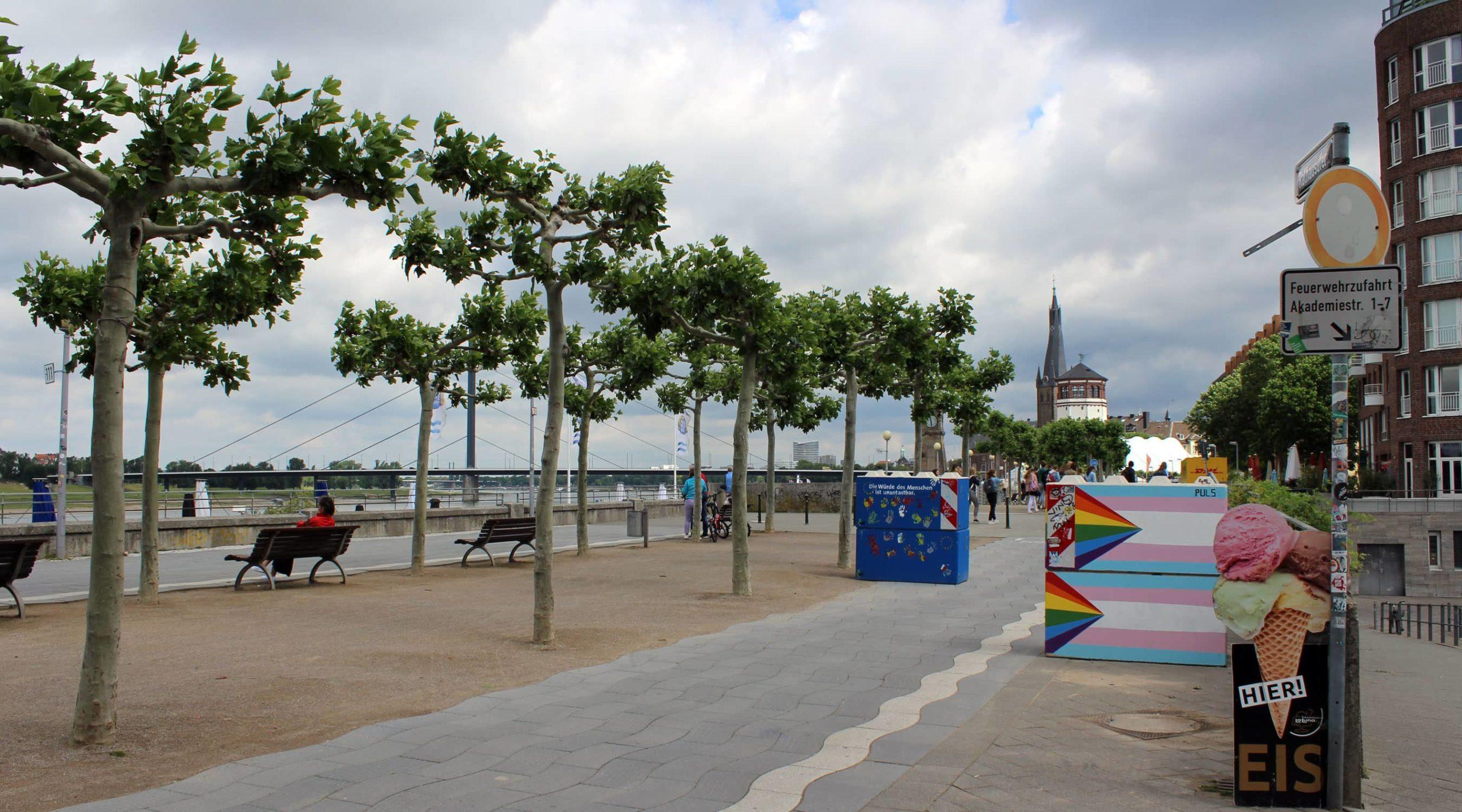 BEstandsbild Rheinpromenade
