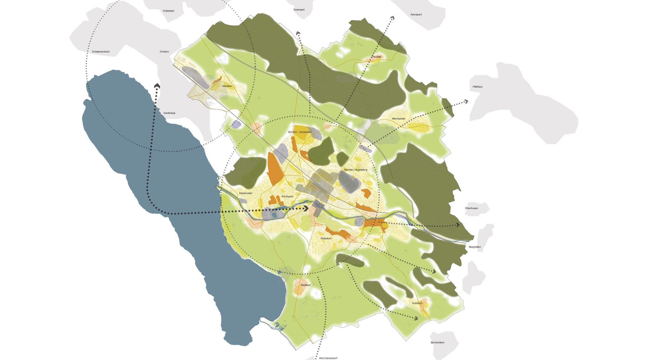 yellow z — Uster Stadtentwicklungskonzept